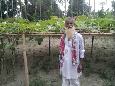 """People don't value farming anymore""-Ibrahim Mian, farmer"