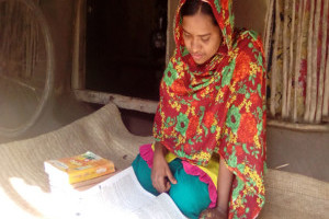 A Self-confident and determined student Fatema Parveen
