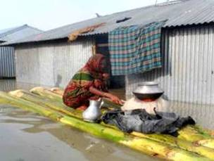 Cooking fuel crisis and Women's suffering in the rainy season