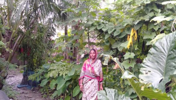Tarulata's initiative affords nutrition for her family members