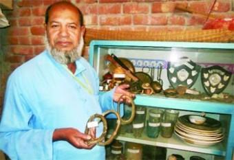 Protector of extinct rice varieties