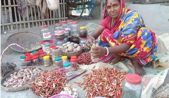 Alpona Rani Mistri and her sparkling journey